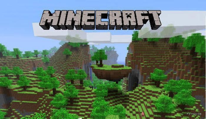 Minecraft Ab Mittwoch Für Die PlayStation Verfügbar PSNOWde - Minecraft spiele fur playstation 3