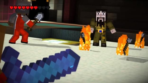 Minecraft Story Mode Episode Das Ende Der Reise Review PSNOWde - Spiele es minecraft